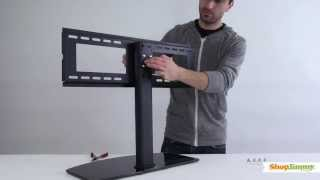 Jimmy Universal Tv Stand Base For 37 55 Tvs Install Wall Mount You