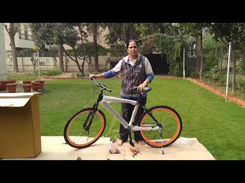 OMOBikes Model 1.0 Assembling video (Everyone in Family can Assemble it easily)