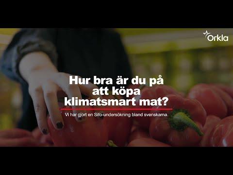 Hur bra är du på att köpa klimatsmart mat?