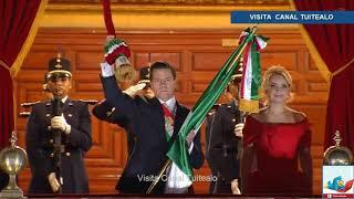 Último Grito de Independencia de Peña Nieto Video 15 Septiembre 2018 Palacio Nacional EN VIVO