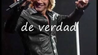 ´´I COULD MAKE A  LIVING OUT  OF LOVIN  YOU´´.BON JOVI subtitulado en español.