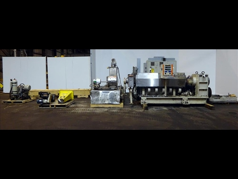 Used- Aqua Munchy Recycling Line - stock # 48442002