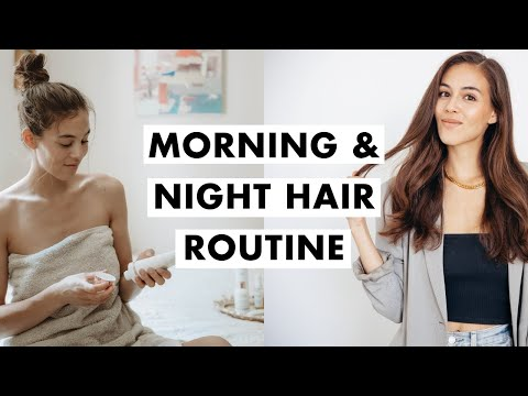 Morning and Night Hair Routine | Luxy Hair
