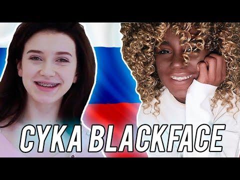 Russian YouTuber Does Blackface *genius*