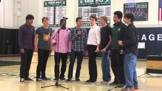"Sage Hill School Encore's ""Show Me the Meaning of Being Lonely"""