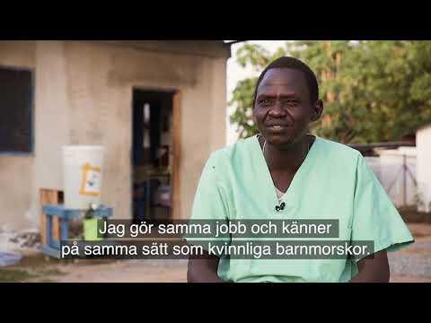Loidon, barnmorska i Sydsudan