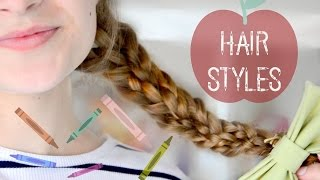 14 Back To School Heatless Hairstyles For Lazy Girls || Adela
