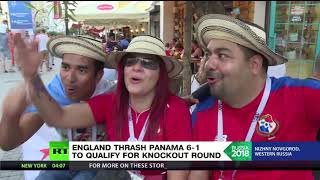 Panama fans jubilant despite losing 6-1 to England