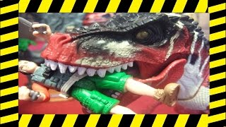 T.REX ESCAPE | Dino Valley Stopmotion Short