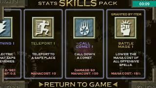 Solomon's Boneyard 2017: All Update skills [magic trap . explosive shield . call comet]