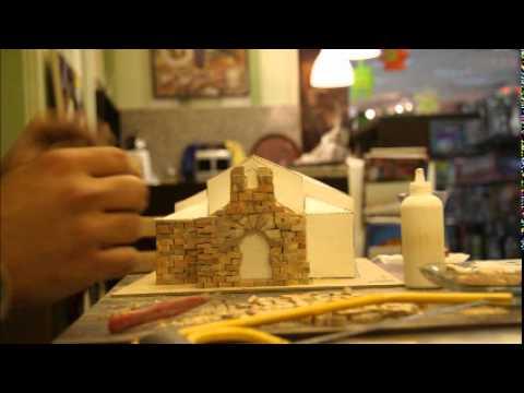 bir maket ev yapımı hikayesi