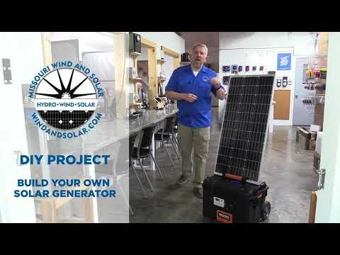 DIY Solar Generator | Missouri Wind and Solar