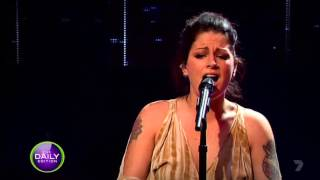 Karise Eden - I'd Rather Go Blind (live on the Daily Edition)