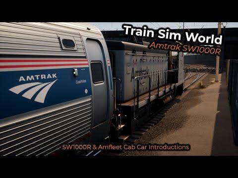 Train Sim World - Amtrak SW1000R -- Introductions SW100R & Amfleet Cab Car