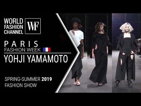 Yohji Yamamoto | Spring-summer 2019 Paris fashion week