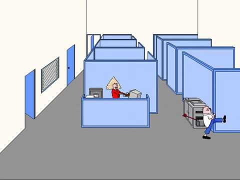 Dilbert: Screen Saver Collection (Secretary with a Crossbow) (Delrina) (Windows 3.x) [1994]