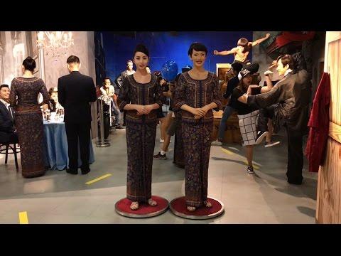 #MannequinChallenge | Singapore Airlines