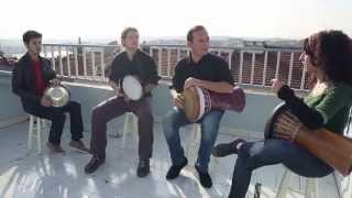 Darbuka and Riq Jam Istanbul 2014