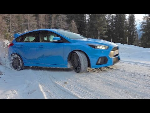 Ford Focus RS 2016 Review ? Test Drive on Snow ? Drive Report