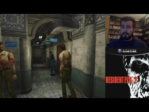 RESIDENT EVIL 2 (Gamecube) - Gameplay en Español    Evento Halloween 2019