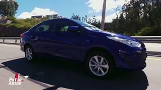 Test Drive: el nuevo Toyota Yaris Sedán propone una caja única en su segmento