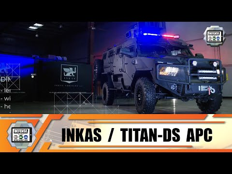 Titan DS SWAT Team 4x4 armored vehicle technical review INKAS Vehicles LLC United Arab Emirates