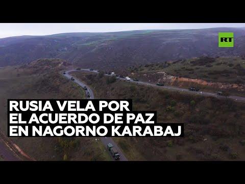 Rusia continúa el despliegue de las fuerzas de pacificación en Nagorno Karabaj