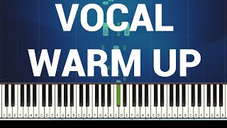 ♬ VOCAL WARM UPS #1 (3 OCTAVES) MAJOR SCALES ♬