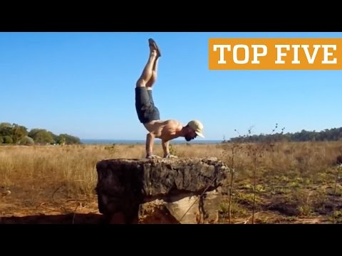 TOP FIVE: Street Workout, Gymnastics & Rubik's Cubing | PEOPLE ARE AWESOME 2016 Poster