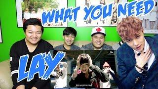 LAY (레이) - WHAT U NEED MV REACTION (FUNNY FANBOYS) width=