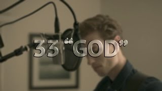 "Bon Iver - 33 ""GOD"" (cover by Tyler Simmons)"
