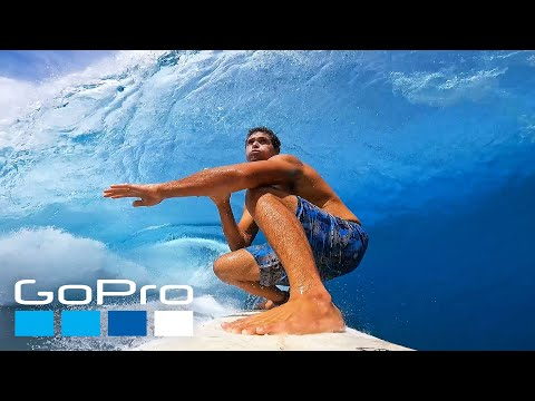 GoPro: Surfing Crystal Clear Waves of Teahupo'o with Tereva David