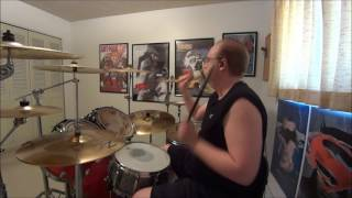 Under The Covers - Disturbed - Inside The Fire DRUM COVER / The Drum Show