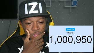 1 MILLION SUBSCRIBERS IN 2 YEARS ( LIVE REACTION )