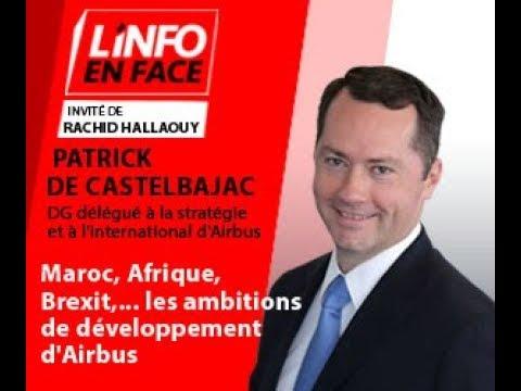 Video : Info en Face : Maroc, Afrique, Brexit... les ambitions de développement d'Airbus