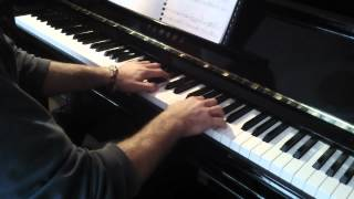 (8) 'Will to Live' (Ikiro) from Princess Mononoke for piano solo, by Joe Hisaishi