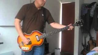 London Calling The Clash Bass Cover