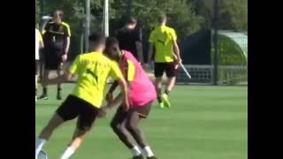 Emre Mor ve Dembele eğleniyor Borussia Dortmund, Emre Mor, Ousmane Dembele