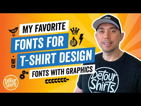Best Fonts for T-Shirt Designs – Combine Popular Fonts + Beautiful Graphics to Increase Sales