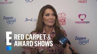 Lisa Vanderpump Talks LuAnn de Lesseps' Divorce   E! Live from the Red Carpet