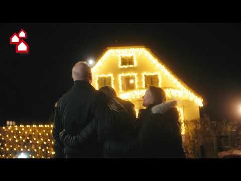 Vinder af julelyskonkurrencen 2020 - Oppyntning af hus til værdi 20.000 kr