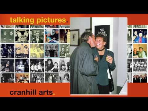 Jim and May at the Zero tolerance exhibition Cranhill Arts Gallery 1995