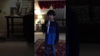 Owen singing Baleleng