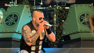 Sabaton — To Hell and Back (Wacken 2015)