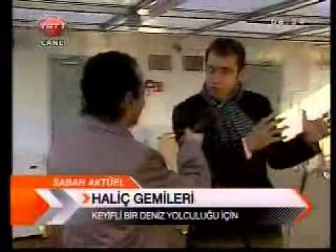 TRT1 - Sabah Haberleri - Haliç yeni gemilerine kavuştu. (Aralık 2009)