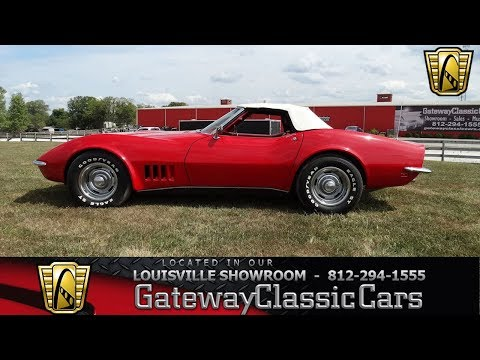1968 Chevrolet Corvette - Louisville Showroom - Stock # 1615