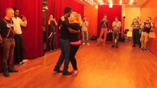 Maria & Arnold - Kizomba workshop at Berlin Kizomba Gala 2013