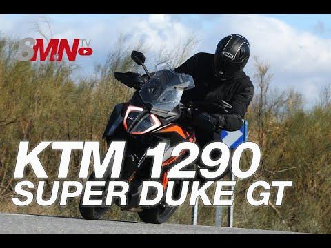 Prueba KTM 1290 SUPER DUKE GT 2019 [FULLHD]
