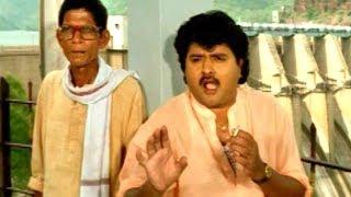 Suryavamsam Comedy Scene - Sudhakar Hilarious Comedy - Venkatesh, Raadhika, Meena