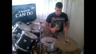 Sabaton - To Hell and Back drums cover